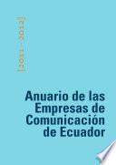Anuario de las Empresas de Comunicación de Ecuador