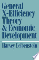 General X-Efficiency Theory and Economic Development