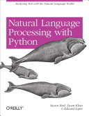 Natural Language Processing with Python Book