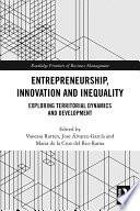 Entrepreneurship Innovation And Inequality
