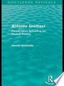 Antonio Gramsci  Routledge Revivals