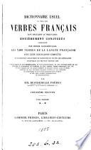 Dictionnaire usuel de tous les verbes fran  ais  par mm Bescherelle fr  res