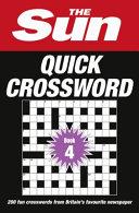 The Sun Quick Crossword Book 4