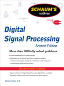 Schaums Outline of Digital Signal Processing  2nd Edition