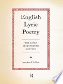 English Lyric Poetry
