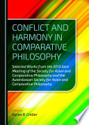Conflict and Harmony in Comparative Philosophy