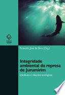 Integridade ambiental da represa de jurumirim