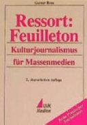 Ressort: Feuilleton