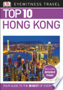 DK Eyewitness Top 10 Travel Guide  Hong Kong