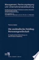 Die ausländische Holding-Personengesellschaft