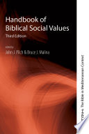 Handbook of Biblical Social Values  Third Edition