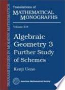 Algebraic Geometry  From algebraic varieties to schemes