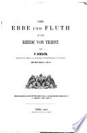Ueber Ebbe und Fluth in der Rhede von Triest