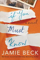 If You Must Know Book PDF