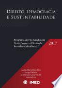 Direito, Democracia e Sustentabilidade: Programa de Pós-Graduação Stricto Sensu em Direito da Faculdade Meridional