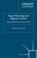 download ebook royal mourning and regency culture pdf epub