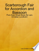 Scarborough Fair for Accordion and Bassoon   Pure Duet Sheet Music By Lars Christian Lundholm
