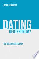 Dating Deuteronomy