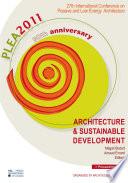 Architecture   Sustainable Development  vol 1