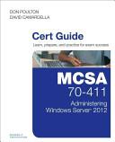 Mcsa 70 411 Cert Guide