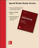 Loose Leaf for Essentials of Negotiation