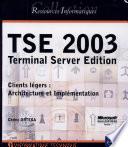 TSE 2003