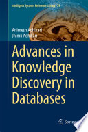 Advances In Knowledge Discovery In Databases book
