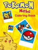 Pokemon Maths Coloring Book