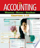 Accounting  Chapters 1 13