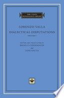 Dialectical Disputations
