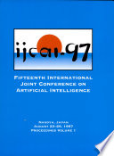 Ijcai Proceedings 1997
