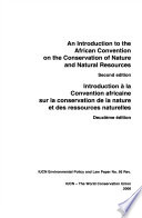 An Introduction to the African Convention on the Conservation of Nature and Natural Resources