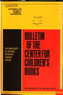 Bulletin of the Center for Children s Books Book PDF