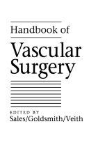 Handbook Of Vascular Surgery