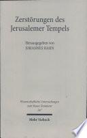 Zerst  rungen des Jerusalemer Tempels