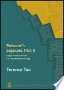 Poincaré's Legacies Mathematics That Are Passed Down