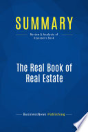Summary  The Real Book of Real Estate
