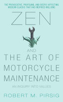 Zen and the Art of Motorcycle Maintenance-book cover