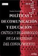 Políticas de comunicación y educación