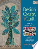 Design  Create  and Quilt