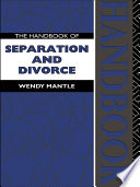 The Handbook Of Separation And Divorce