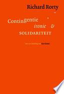 Contigentie Ironie En Solidariteit