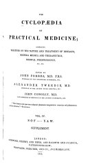 The Cyclopaedia of Practical Medicine
