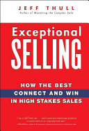 Ebook Exceptional Selling Epub Jeff Thull Apps Read Mobile