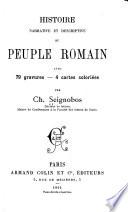 Histoire Narrative Et Descriptive Du Peuple Romain