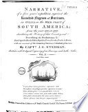 Narrative  of a Five Years  Expedition  Against the Revolted Negroes of Surinam  in Guiana  on the Wild Coast of South America  from the Year 1772  to 1777