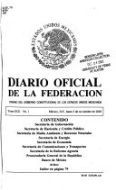 Diario oficial de la federaci  n