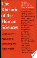 The Rhetoric of the Human Sciences