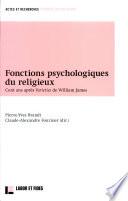 Fonctions psychologiques du religieux