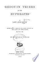 Bedouin Tribes Of The Euphrates : ...